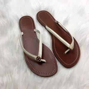 New Tory Burch Terra Leather Sandals